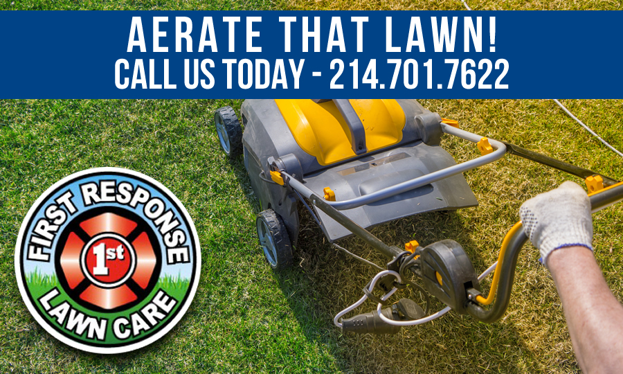 lawn aeration rockwall