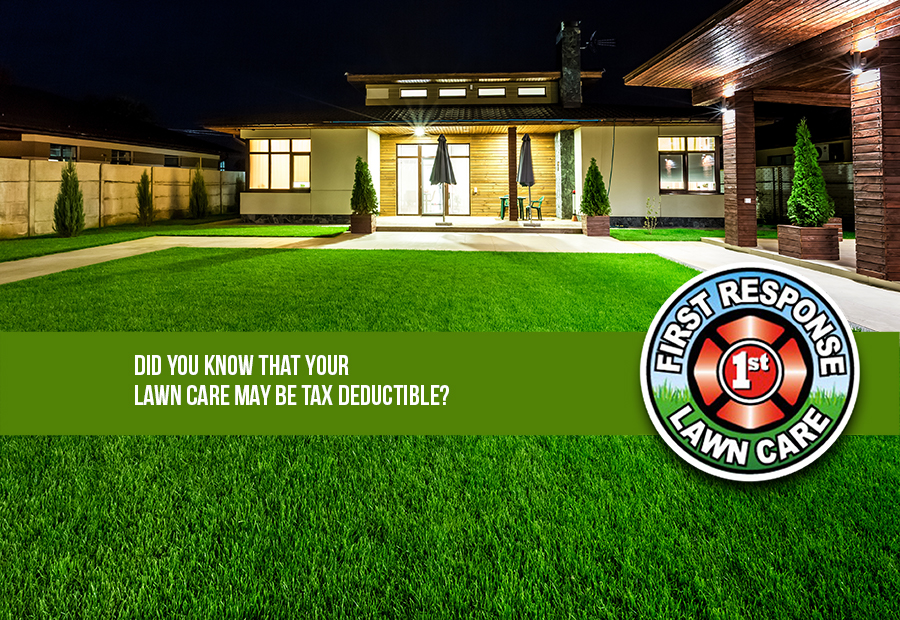 Did you know that your lawn care may be tax deductible?