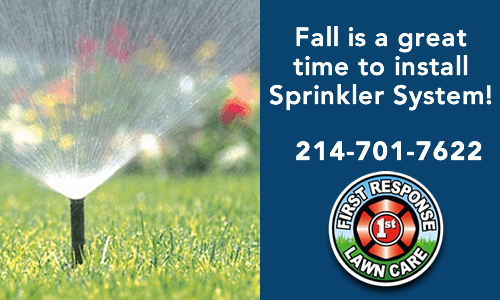 Fall Is Best Time To Install Your Sprinkler System